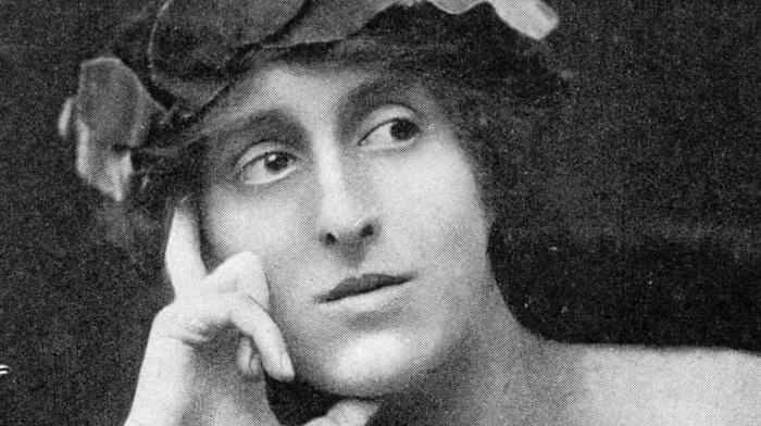 A portrait of Vita Sackville-West.